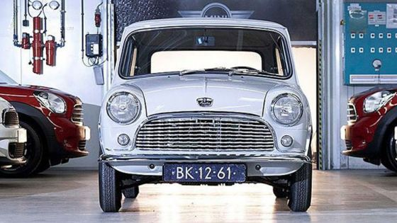 Restauración del MINI Austin de 1959